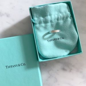 Authentic Tiffany and Co. 1837 Ring - 4 1/2